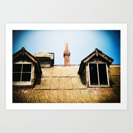 Alcatraz Windows Art Print