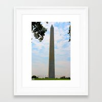 washington dc Framed Art Prints featuring Washington DC by GregoryBurgess Photography