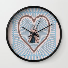 Queen of Heads Variation Wall Clock