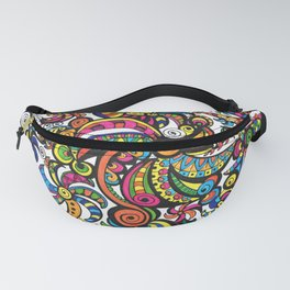 Apocalyptic Parrots Fanny Pack