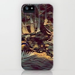 """ The Hunt "" iPhone Case"