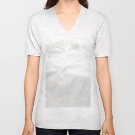Sleeping in. By Angelica Ramos Unisex V-Neck
