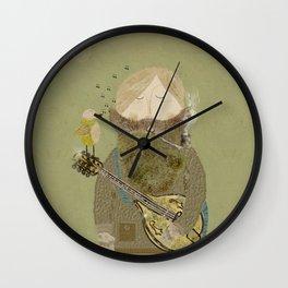 mornings song Wall Clock