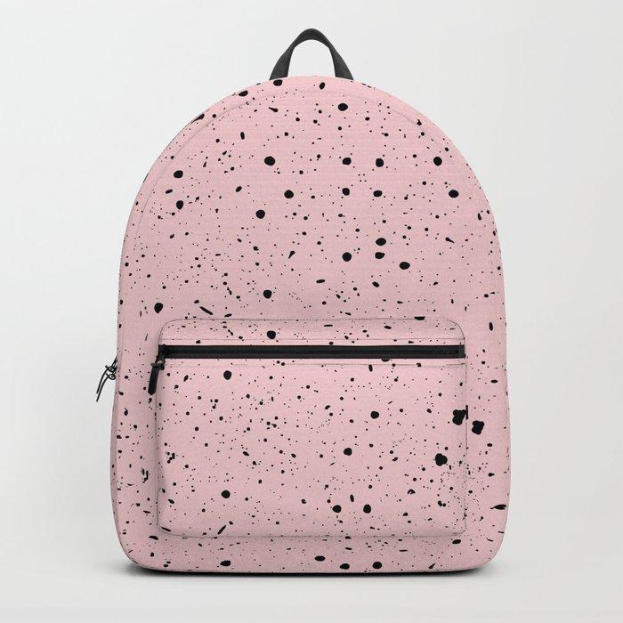 Speckled Pink Backpack