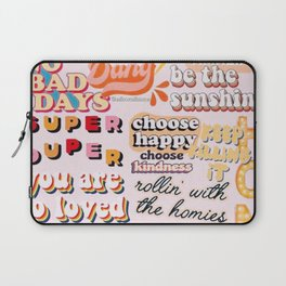 Orange Mood Laptop Sleeve