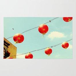 Lanterns III, Chinatown Rug
