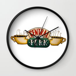 Friends: Central Perk Coffee Wall Clock