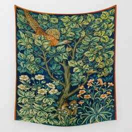Cock Pheasant (1916) by William Morris and John Henry Dearle Wall Tapestry