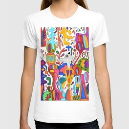 Mr.Master wrapped in colors T-shirt