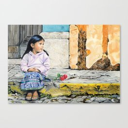 PATIENTLY WAITING Canvas Print
