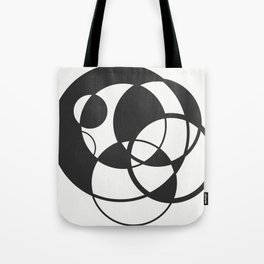 Overlapping Circles Tote Bag