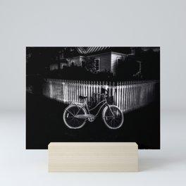 Grandmothers House - Black And White Mini Art Print