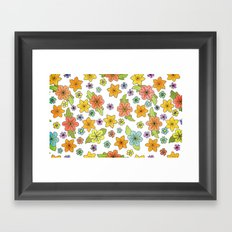 Flowers No. 2 Framed Art Print