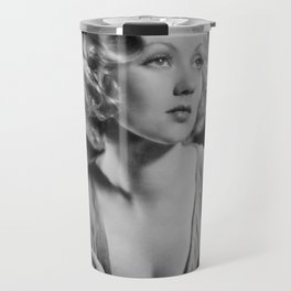 Ann Southern, Hollywood Starlet black and white photograph / black and white photography Travel Mug