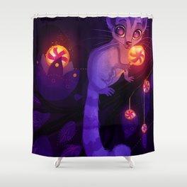 Sugarglider Shower Curtain