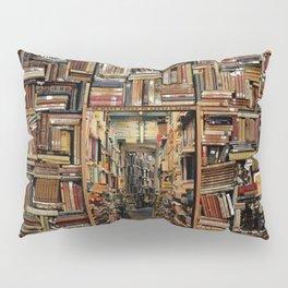 So many books, so little time. Pillow Sham