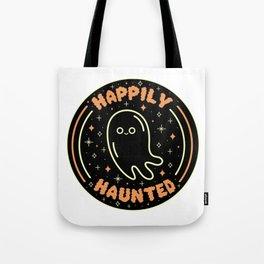 Happily Haunted Tote Bag