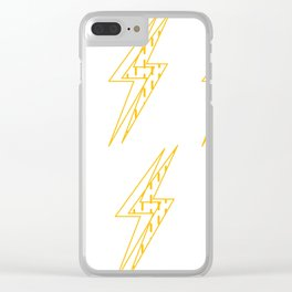 BLINDED LIGHT Clear iPhone Case