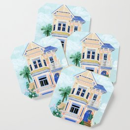 Little Victorian House Coaster