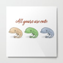 All guars are cute Metal Print