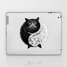 Grumpy Yin Yang Laptop & iPad Skin
