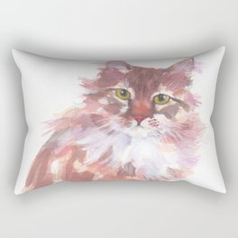 Ginger Peach Rectangular Pillow