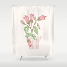 Flower In a Pot Shower Curtain