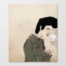 Smokey & the Jacket Canvas Print