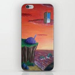 alternative sunset iPhone Skin