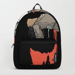 Creepy man Best gift Backpack