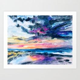 Breakwall Art Print