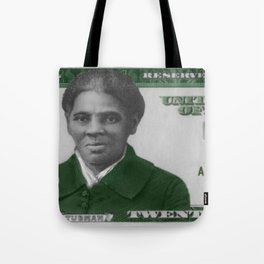 Proposed African American Icon Harriet Tubman Single U.S. Mint 20 Dollar bill Tote Bag