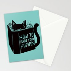 Cat Reader Advice Stationery Cards
