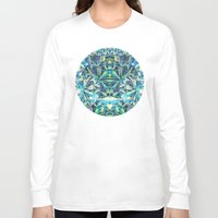 diamond Long Sleeve T-shirts featuring Diamond by Marta Olga Klara