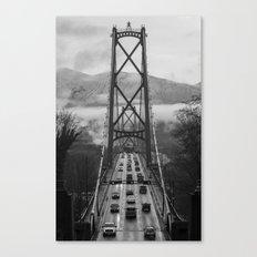 Lion's Gate Bridge  Canvas Print