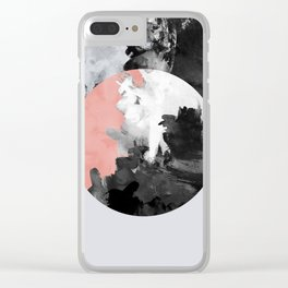 Minimalism 27 Clear iPhone Case