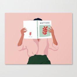 Art addicted Canvas Print