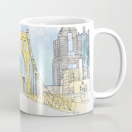 Roberto Clemente Bridge Coffee Mug