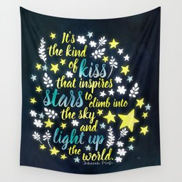 Shatter Me - Stars quote design Wall Tapestry