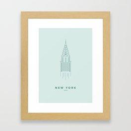 New York City Collection Framed Art Print
