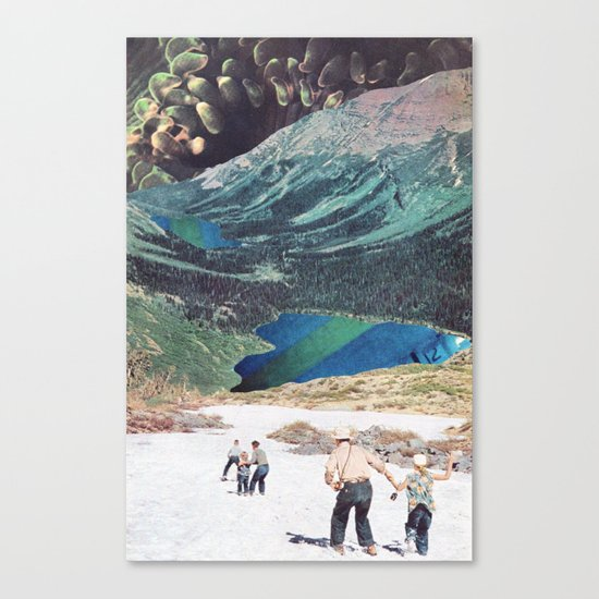 In Empty Spaces Canvas Print