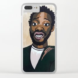 Ol Dirty Mona Clear iPhone Case