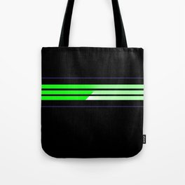 Team Colors....lime green,navy Tote Bag
