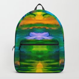 Water Lily Illusions Backpack