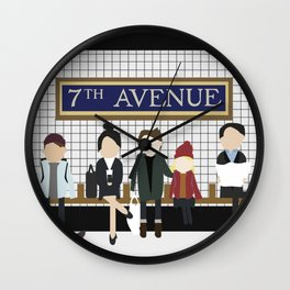 The Commute Wall Clock