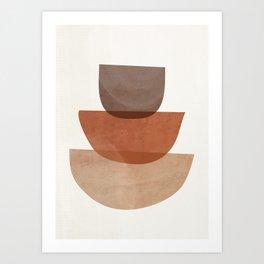 Abstract Shapes 18 Art Print