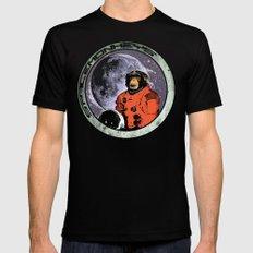 Space Monkeys Black MEDIUM Mens Fitted Tee