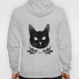 Herbs - Black cat Hoody