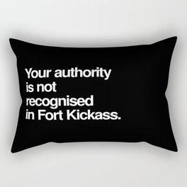 Fort Kickass Rectangular Pillow