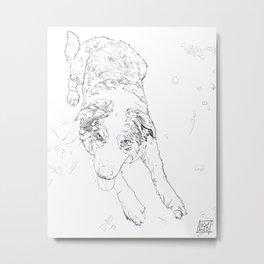 Remi line art Metal Print